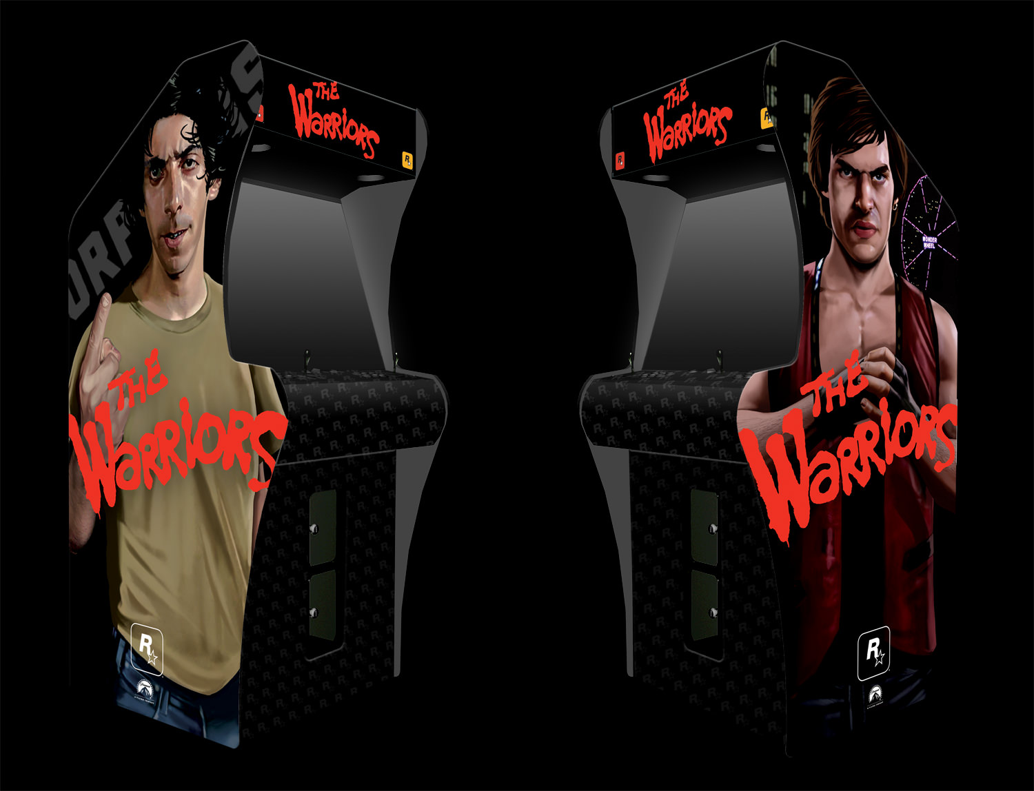 The Warriors Movie Site - Arcade Machine