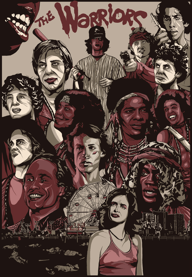 The Warriors Movie Site - Chris Morkaut Art