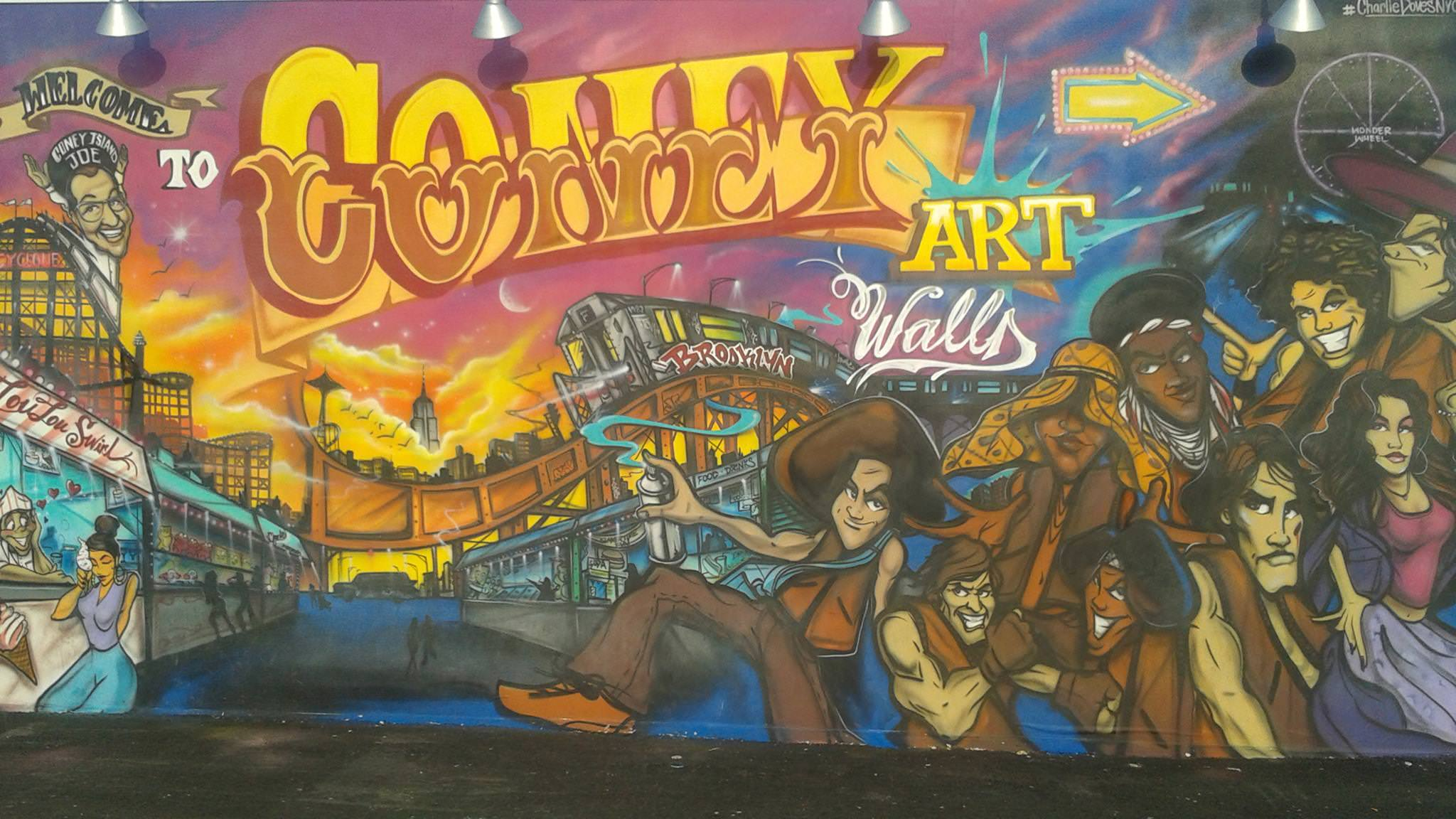 The Warriors Movie Site - Coney Island Artwork