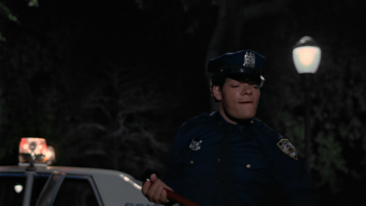 The Warriors Movie Site - Irwin Keyes - Cop who clubs Ajax