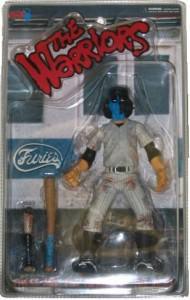 The Warriors Movie Site - Action Figure - Mezco Toyz Blue Baseball Fury