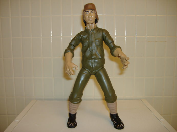 The Warriors Movie Site - Action Figure - Custom Savage Hun