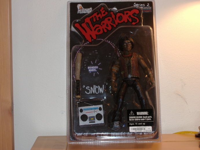 The Warriors Movie Site - Action Figure - Custom Snow