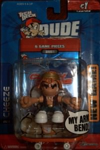 The Warriors Movie Site - Action Figure - Tech Deck Dude
