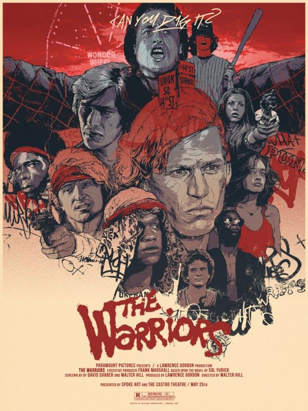 The Warriors Movie Site - Poster By Grzegorz Domaradzki