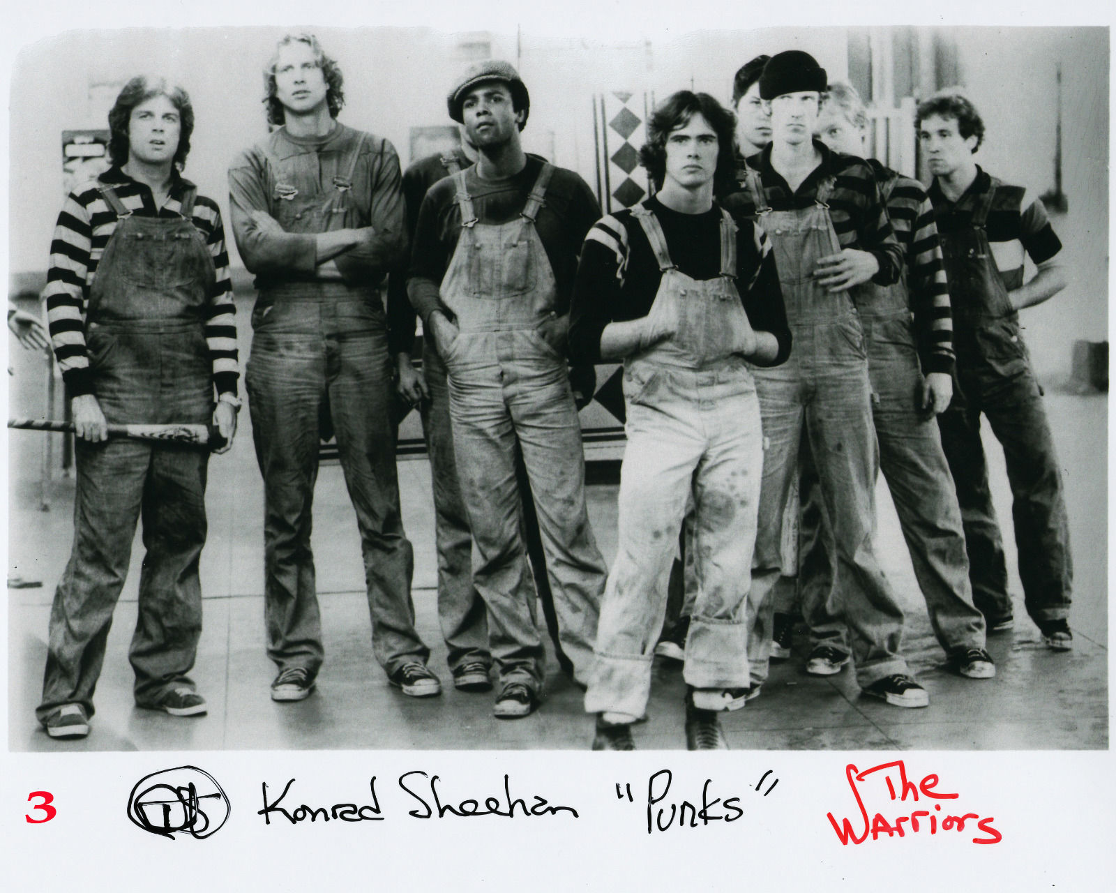 The Warriors Movie Site - Konrad Sheehan Autograph