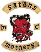 The Warriors Movie Site - Satans Mothers Logo