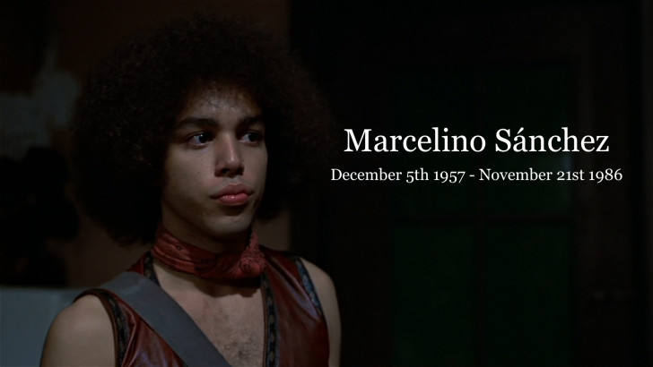 The Warriors Movie Site - Marcelino Sánchez Tribute