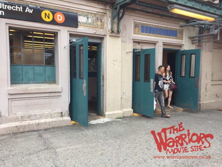 The Warriors Movie Site - Filming Location