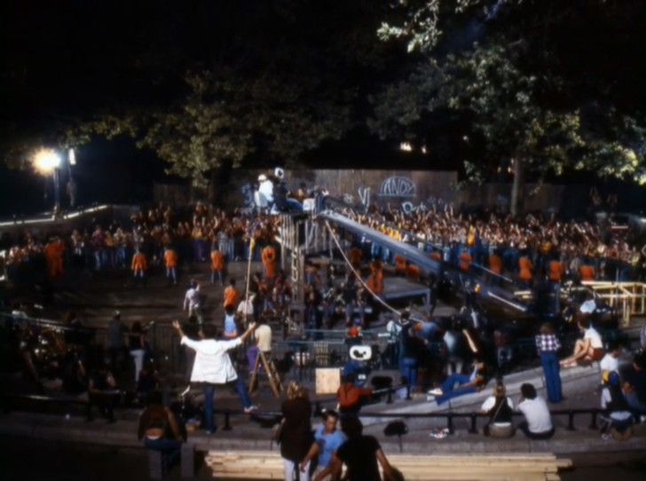 The Warriors Movie Site - Production Photo