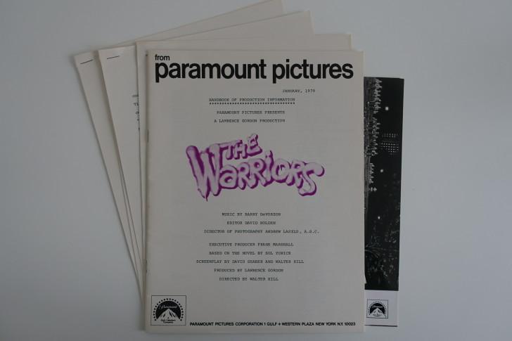 The Warriors Movie Site - Press Handbook