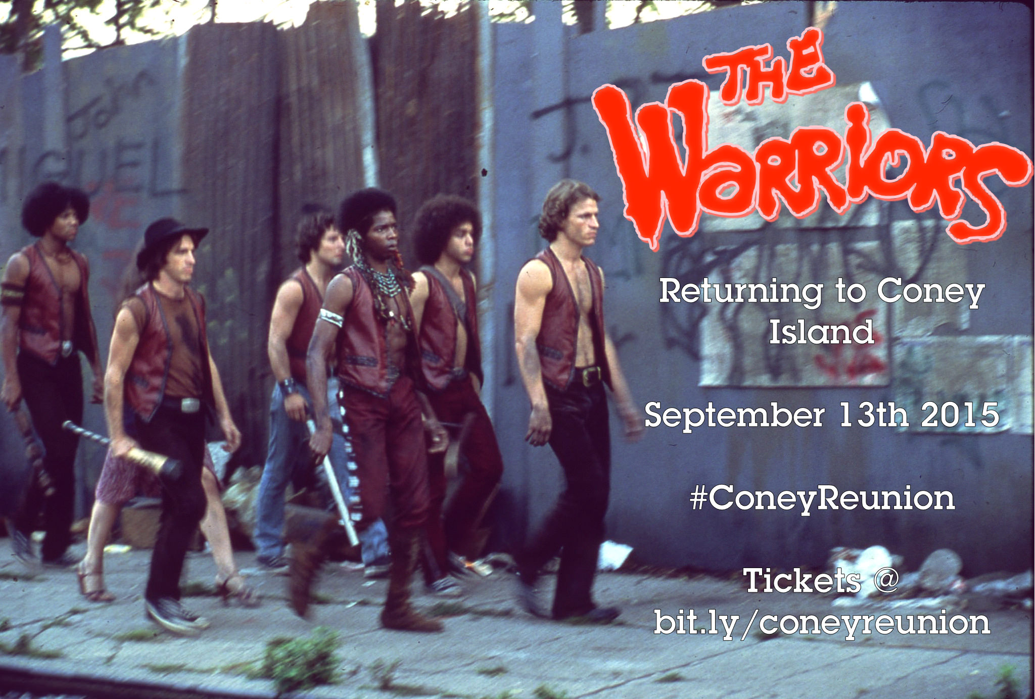 The Warriors Movie Site Is Going To Visit Coney Island!