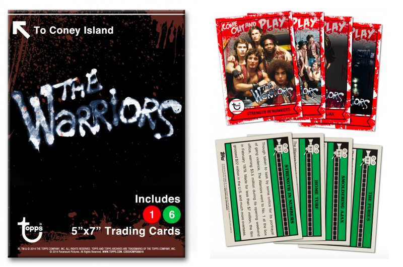 The Warriors Movie Site - Topps Baseball Cards