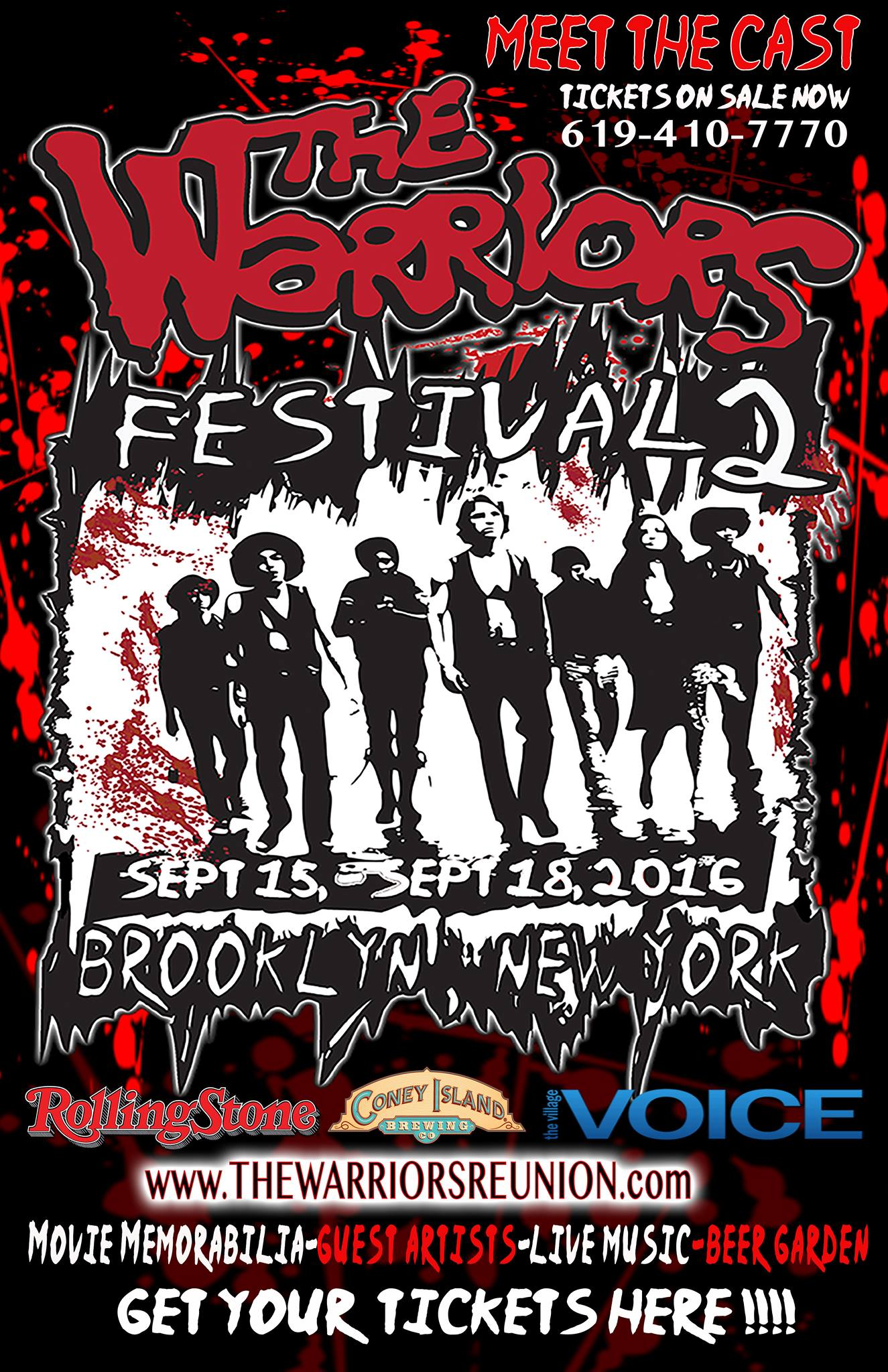 The Warriors Fest 2 – Come Out To Play In September 2016